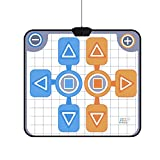 fosa Dance Pad for Wii, Double Person Non-slip Dancing Mat for Nintendo Wii Console Game
