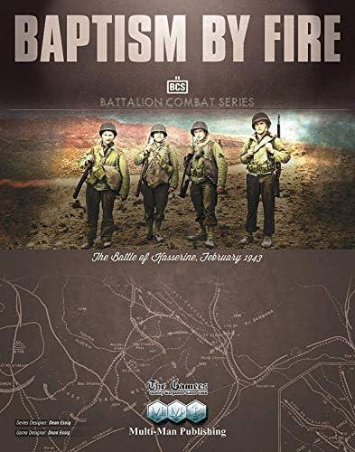 MMP: Baptism by Fire, Battle of Kasserine, February 1943, Boardgame