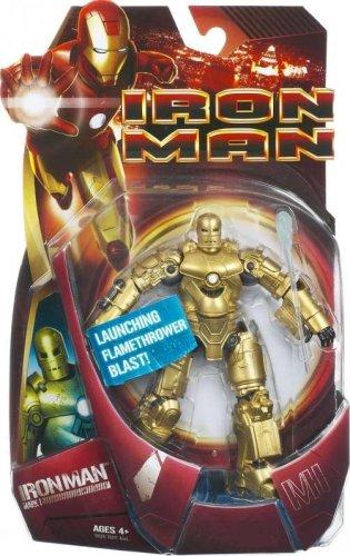 Gold Mark 1 Iron Man Movie Action Figure Japan import CHAR-IROM-ACTF-6INC-GOLD/_MARK/_01