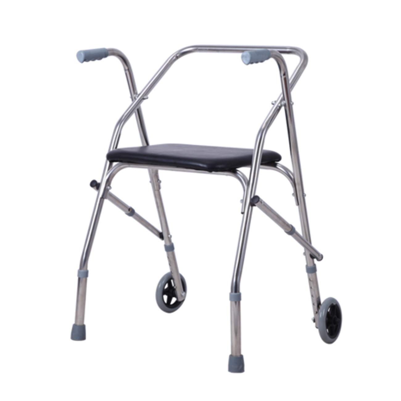 【ギフト】 高齢者の歩行器、ステンレススチールの構造、キャスター折り畳み式歩行器を備えたシートクッション、高齢者が歩行器を使用不可にした、多色オプション しるば゜) (色 : (色 しるば゜ シルバー しるば゜) シルバー しるば゜ B07L5MFHWQ, セレスティ:3dd9ef86 --- a0267596.xsph.ru