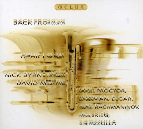 Back from Oblivion by Melba Records
