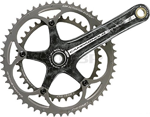 (Campagnolo Athena Crankset Carbon Power Torque System 11 Speed 175mm 53-39t)