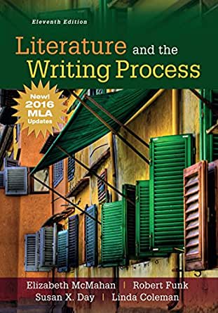 A writers reference with writing about literature eighth edition