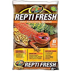 Zoo Med ReptiFresh Odor Eliminating Substrate, 8 Pounds