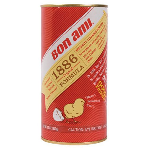 Bon Ami 04030 Cleaning Powder, 12-Ounce