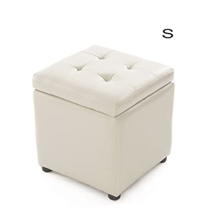 Incredible Amazon Com Xm Ottomans Zfgg Storage Stool Leather Stool Andrewgaddart Wooden Chair Designs For Living Room Andrewgaddartcom