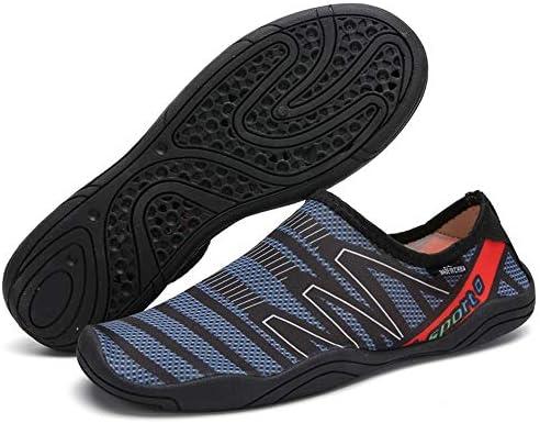 男性と女性のウォーターシューズサーフィンビーチスイミングシュノーケリング速乾性排水通気性のソフトで軽いカップル上流の川のハイキングアウトドアスポーツやレジャー中立的な靴 ポータブル (色 : Black, Size : US10.5)