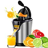 Citrus Juicer Stainless Steel Electric Orange Citrus Juicer Extractor Pulp Control Squeezer Machine [Ultra Quiet] [Precision of a Hand-press] with the Direct Drive Motor Review