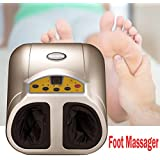 Foot Massager Shiatsu, Electric Foot Spa with Heat, Toes Relieved Machine for Home Office (3 Modes 3 Levels Intensity) (Basic Models)