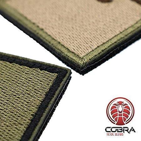 Cobra Tactical Solutions Punisher Skull Parche Bordado T/áctico Moral Militar con Cinta adherente de Airsoft Paintball para Ropa de Mochila t/áctica Verde//Negro