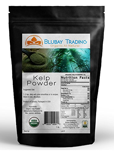 8 oz. ORGANIC KELP POWDER PURE ~ N. AMERICA SOURCED - SUPERFOOD