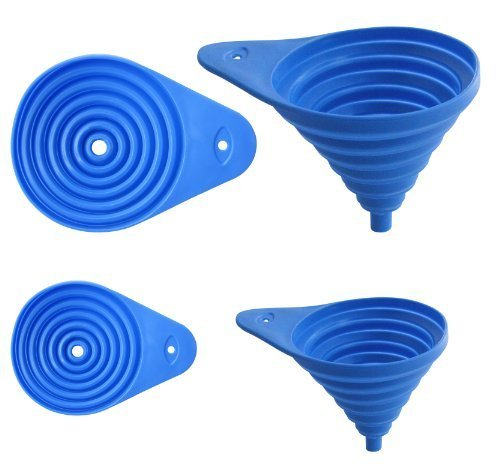 Set of 2 Flexible Collapsible Funnel