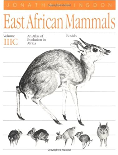 Book East African Mammals: Bovids v. 3C: An Atlas of Evolution in Africa