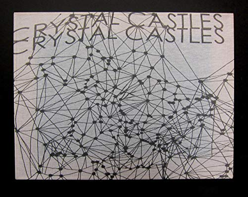 Crystal Castles | Upcycled 2008 T-shirt Wall Art Hanging | White ()