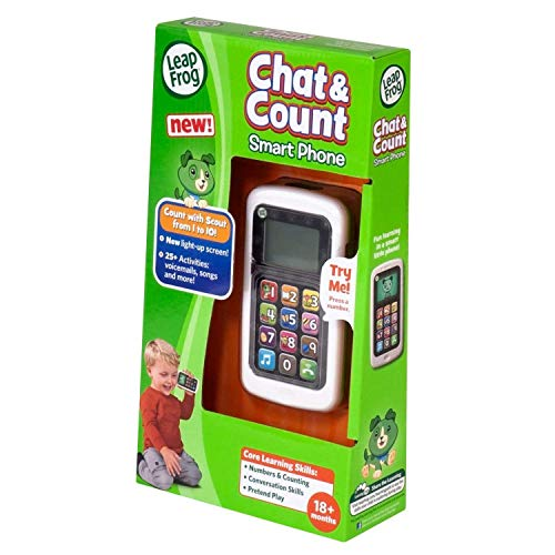 LeapFrog Chat and Count Smart Phone, Scout, Assorted Colors by LeapFrog (Image #6)