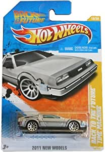 Hot Wheels 2011-018 New Models 18/50 Back To The Future Time Machine 1:64 Scale