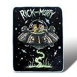 Rick and Morty Fresh Start Fleece Throw Blanket