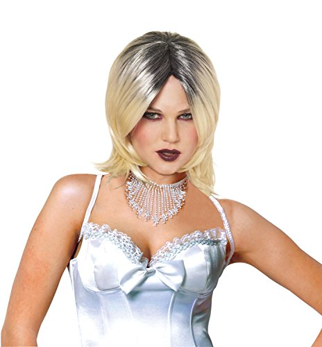 Costume Culture Women's Evil Bride Wig, Blonde, One -