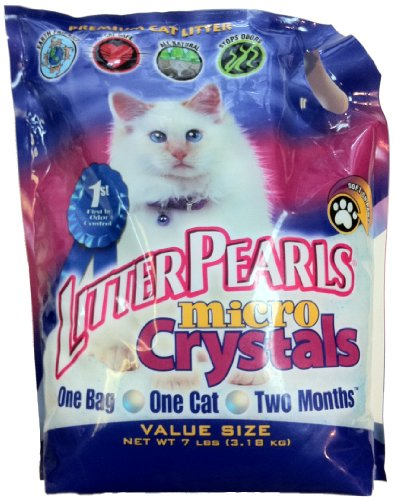 Ultra Pet Cat Litter Pearls Micro Crystals, 7-Pound Bag, My Pet Supplies