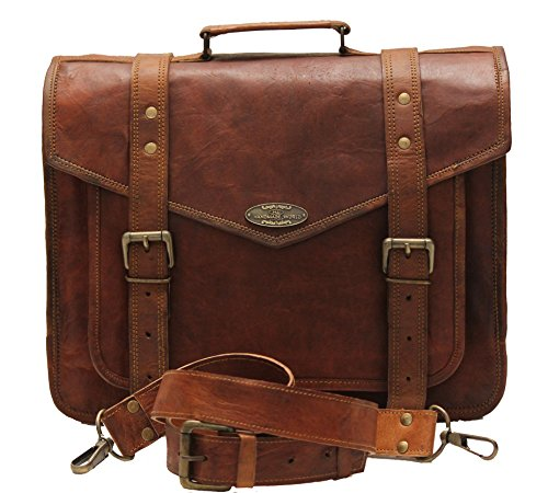 Handmade_World leather messenger bags for men women mens briefcase laptop bag best computer shoulder satchel school bag