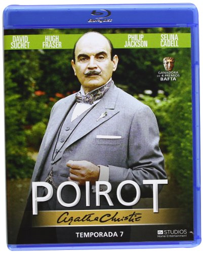 Agatha Christie's Poirot - Season 7 ( Agatha Christie: Poirot ) ( The Murder of Roger Ackroyd / Lord Edgware Dies ) [ Blu-Ray, Reg.A/B/C Import - Spain ]