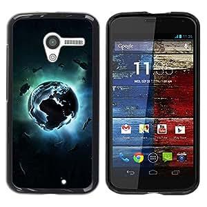 Be Good Phone Accessory // Dura Cáscara cubierta Protectora Caso Carcasa Funda de Protección para Motorola Moto X 1 1st GEN I XT1058 XT1053 XT1052 XT1056 XT1060 XT1055 // Planet Exp