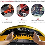 SLIPLO Universal Front Bumper Skid Plate Protector, Scrape Guard for Lowered Cars, DIY Scratch Protection Kit