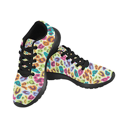 Running Walking Multi Sports Shoes Easy Running Lightweight 8 Jogging Comfort Go Womens Sneaker InterestPrint 7q0vwv