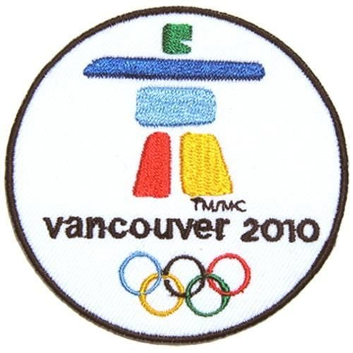 2010 Winter Olympics Vancouver Canada Sport Iron Jacket Shirt Jersey Embroidered Iron on Patch