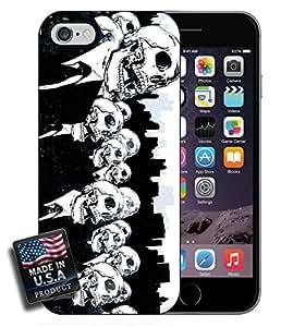 Skeleton Skull Men Art iPhone 6 Hard Case wangjiang maoyi