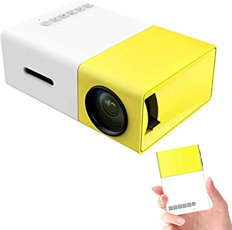 Amazon.com: Mini proyector, proyector portátil YG300 LED ...