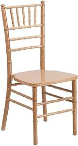 Flash Furniture HERCULES Series Natural Wood Chiavari Chair