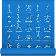 NewMe Fitness Instructional Yoga Mat