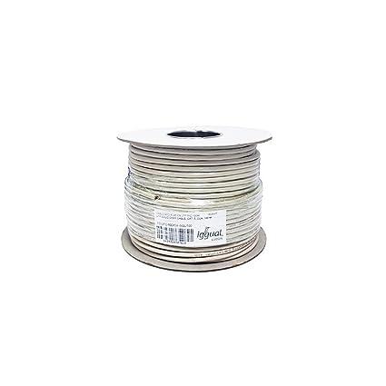 iggual Bobina Cable RJ45 CAT6 UTP Rigido 100Mts - Cable de Red (100 m, Cat6, U/UTP (UTP), Gris): Amazon.es: Informática