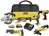 DEWALT 20V MAX Cordless Drill Combo Kit, 6-Tool