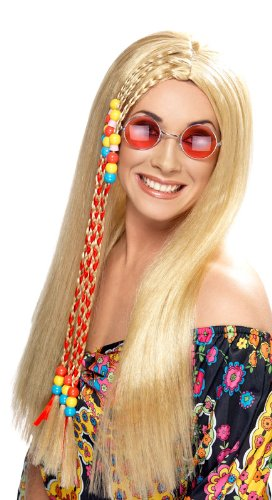 Hippie Party Wig - Blonde (peluca)