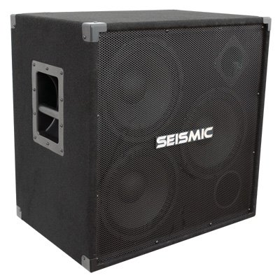 Seismic Audio - 310 Bass Guitar Speaker Cabinet PA DJ 750 Watts 3x10 3 10 by Seismic Audio