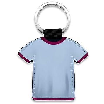 Diver Bebé Llavero Camiseta fútbol Personalizado con Foto - Celeste ...