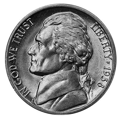 1938 -P Jefferson Nickel - Choice/Gem BU US ()