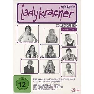Ladykracher in der DVD Box (Staffel 1 – 5) für 26 € inkl. Versandkosten !