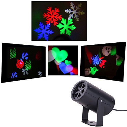 Holiday Light Projector For ChristmasHalloweenValentines Day Home Party Night Lights For Kids Room
