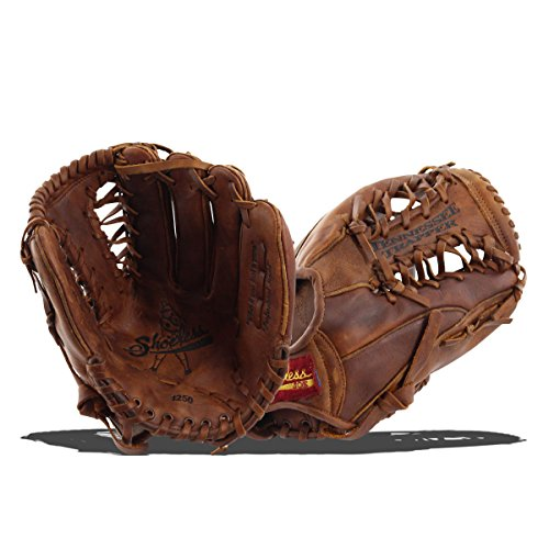 [Shoeless Joe Gloves Tennessee Trapper Brown Glove, 12 1/2-Inch, Left Handed] (Series 12 1/2