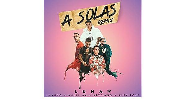 A Solas (Remix) de Lyanno & Anuel AA Lunay en Amazon Music ...