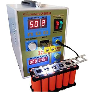 220V 788H with LED Dual Pulse Spot Welder Welding Machine Power Tool Battery Charger