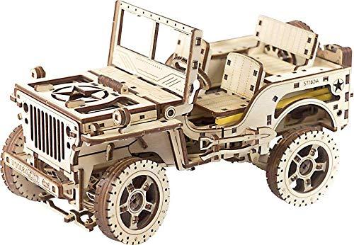 Wooden Mechanical 3D Model