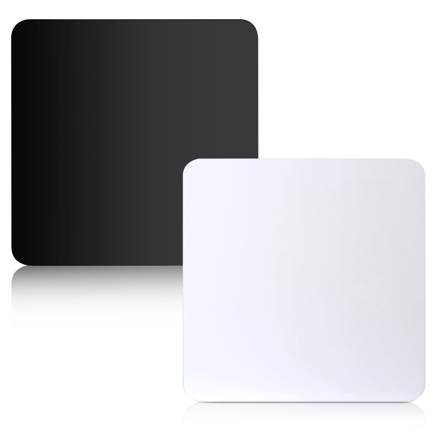 Neewer Acrylic Reflective Display Boards for Table Top Product Photography, 15.7 x 15.7 inches/40 x 40 centimeters (Black and White)