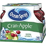 Ocean Spray Juice Drink, Cran-Apple, 10 Ounce Bottle (Pack of 6)
