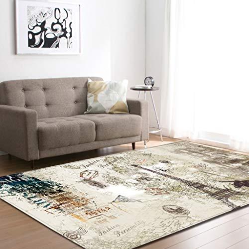 Alfombras y moquetas Estilo europeo sala de estar dormitorio comedor alfombra alfombra estera del piso mesa de cafe estera rectangular Alfombra grande Manta de la cabecera Alfombra antideslizante