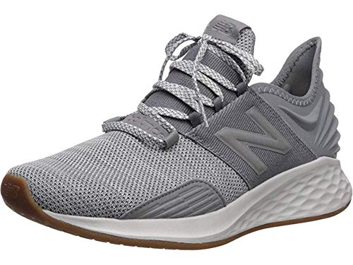 New Balance Men's Roav V1 Fresh Foam Running Shoe, Gunmetal/Summer Fog, 12 D US