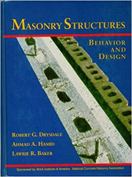 Masonry Structures: Behavior and Design